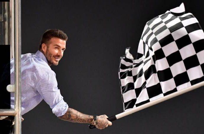 Дейвид Бекъм – фен на високите скорости и Формула 1