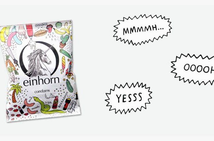 Веган презервативите Einhorn и каква е разликата с обикновените
