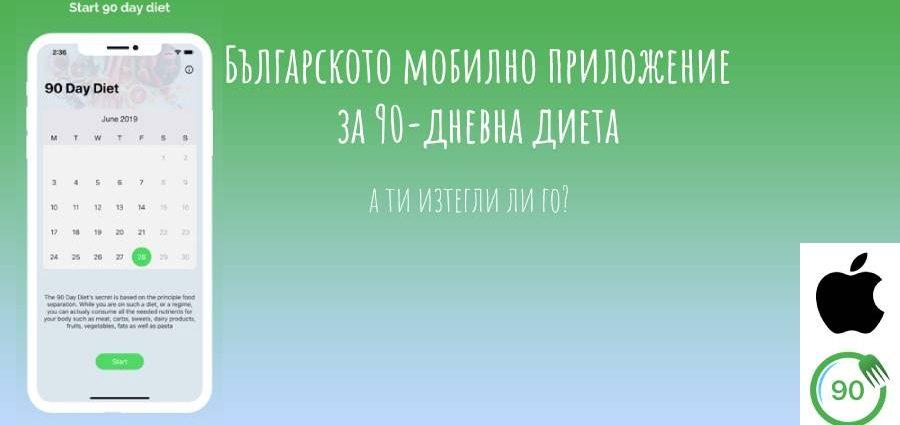 Българско мобилно приложение ни помага да се възползваме по най-добрия начин от популярната система за отслабване